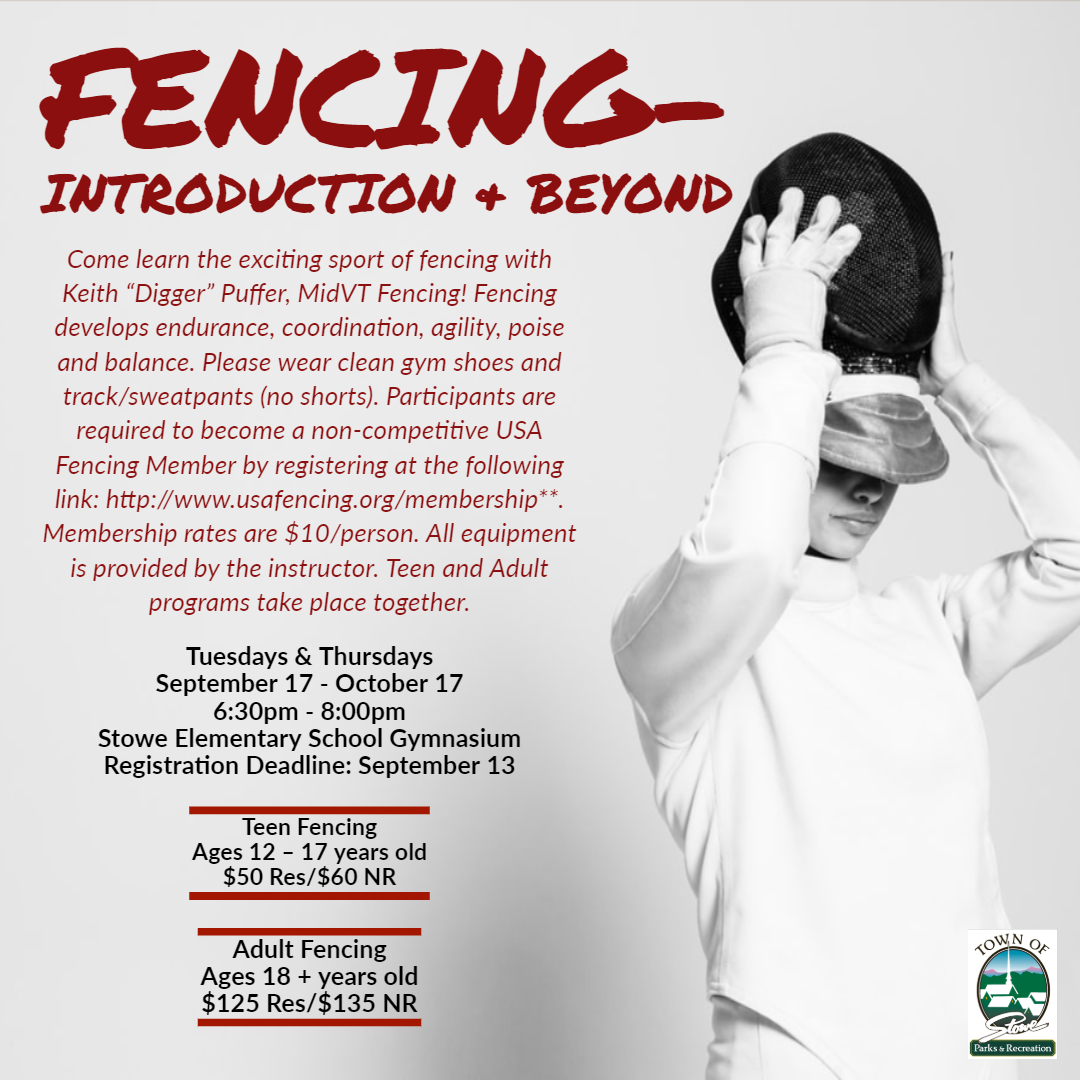 Fencing-Introduction & Beyond