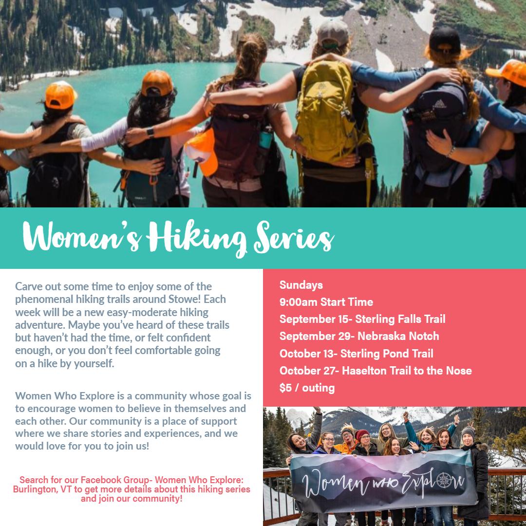 Women Who Explore- Women's Hiking Series