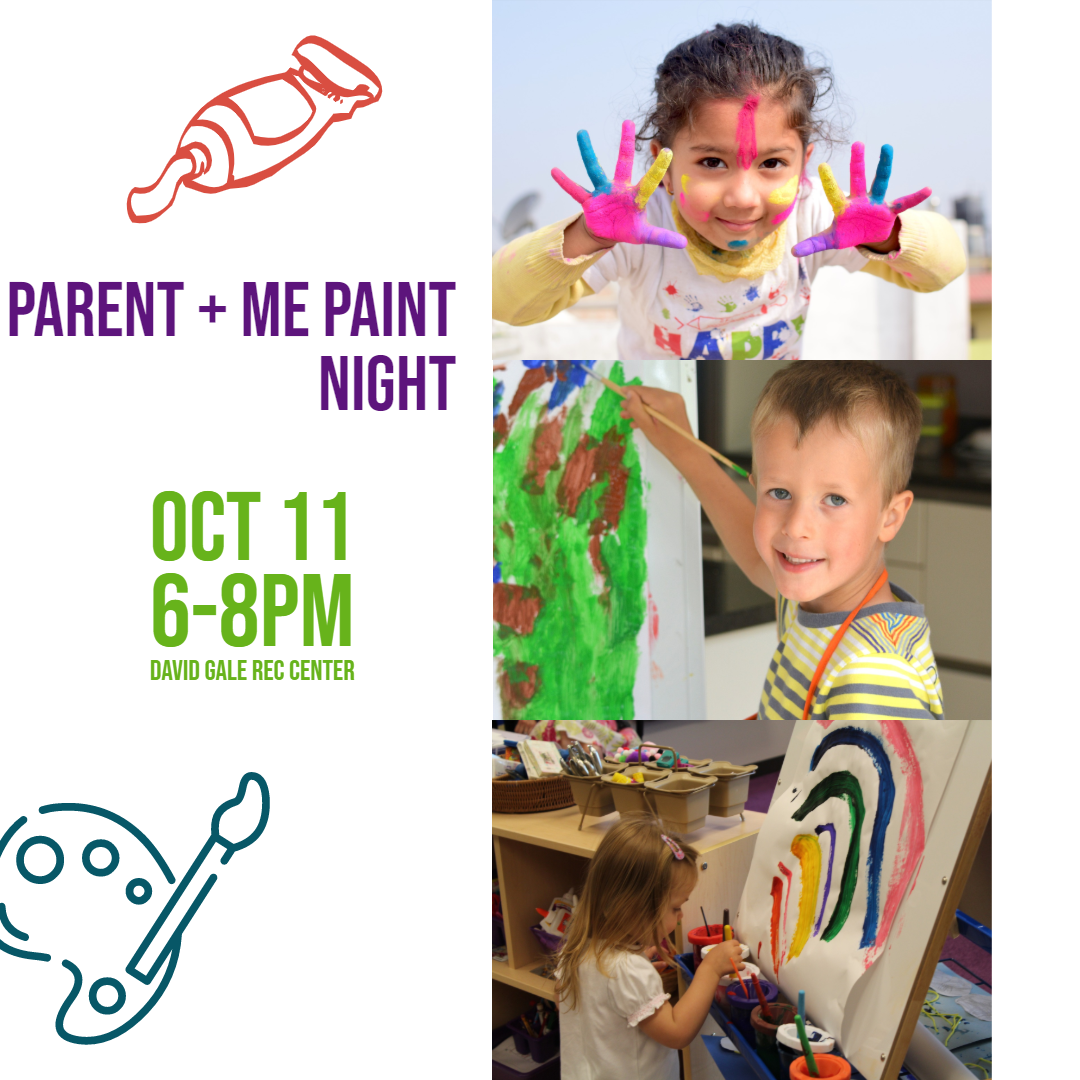 Parent and Me Paint Night Oct