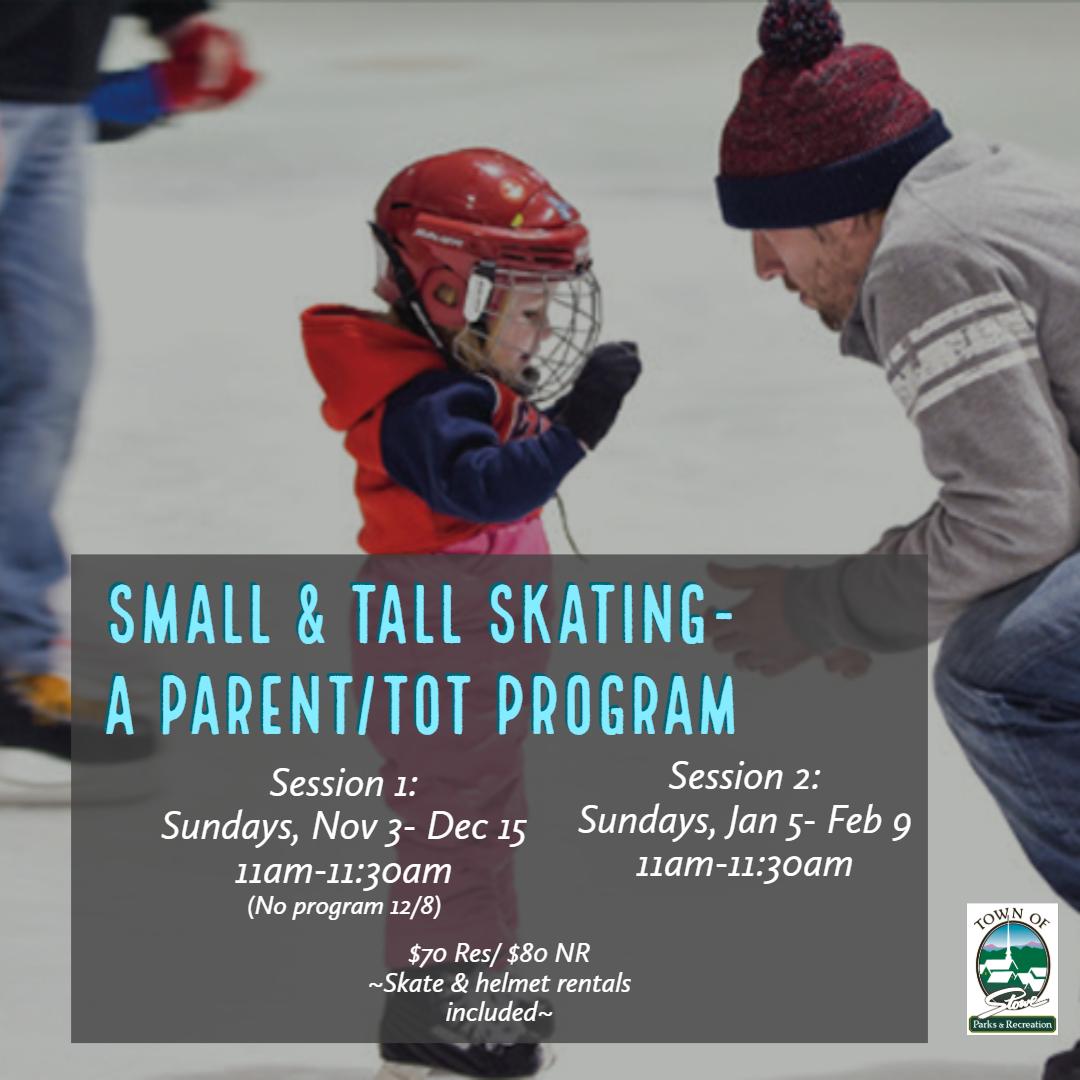 Small & Tall Skating Social 2019