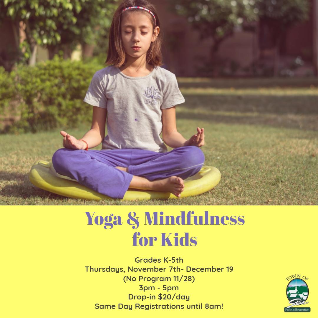 Yoga for Kids Flyer Copy