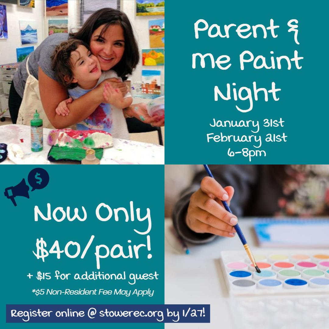 Parent & Me Paint Night